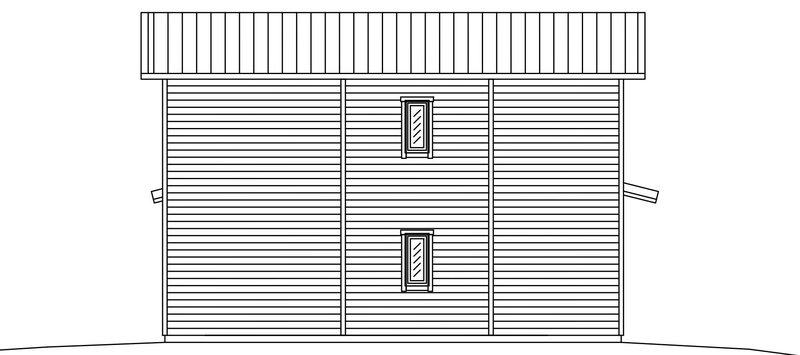 Villa Söderlund – fasad 2 gavel