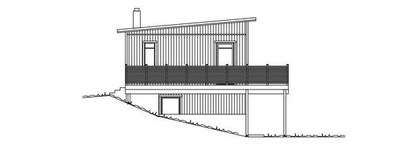 Villa Wadegård fasad 2