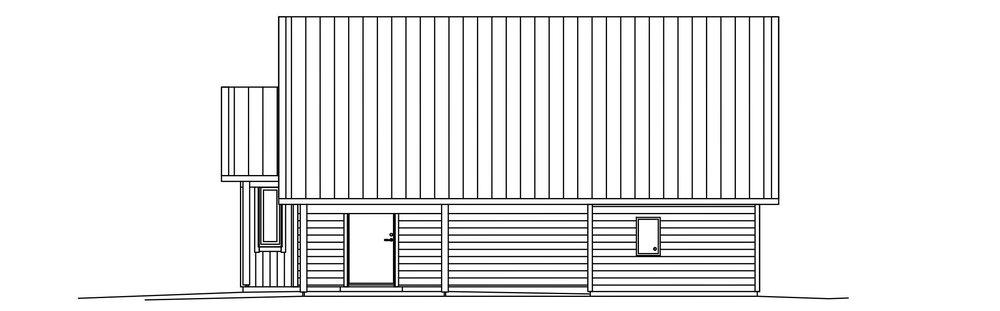 Villa Wikerud – fasad 2