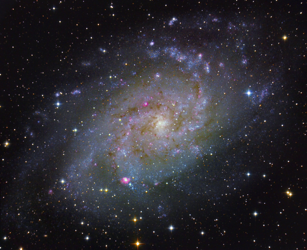 M33 Galaxy in Triangulum