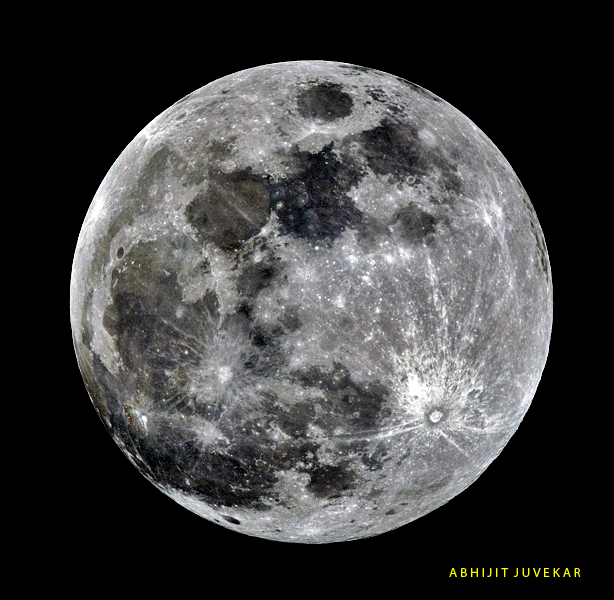 Hunter's Full Moon - Kojagiri Pornima in India.