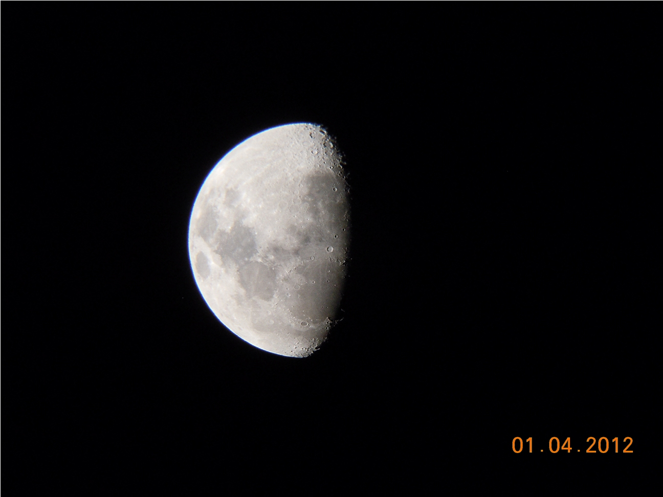 My greatest shot of the moon