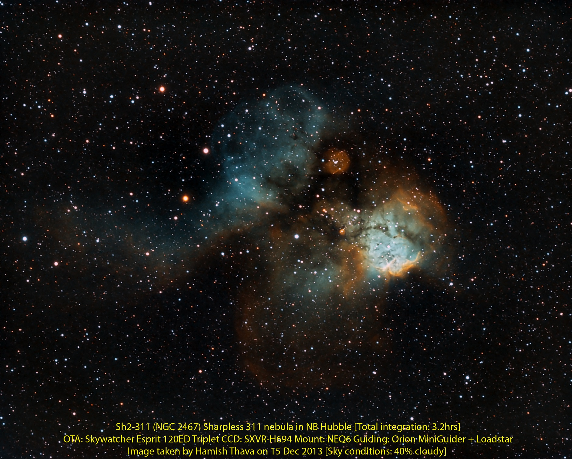 Sharpless 311 Nebula