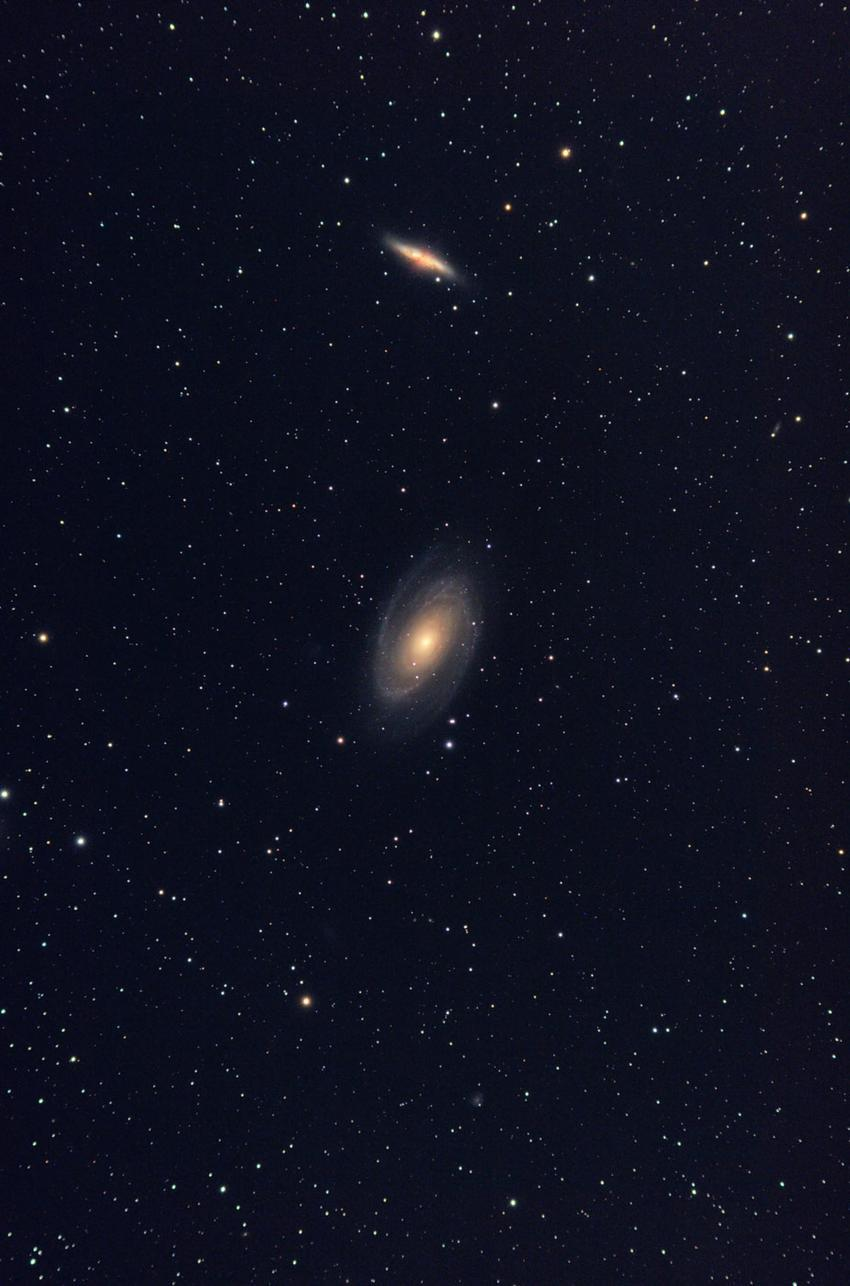 My 3rd attempt of M81 and M82