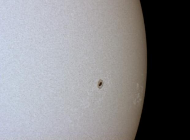 Solar filter test