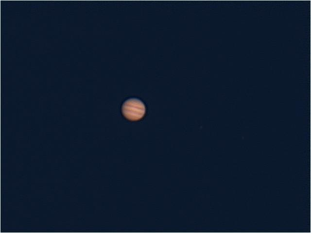 Jupiter Low in the South