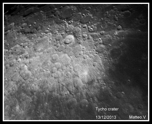 Tycho crater  (Moon)