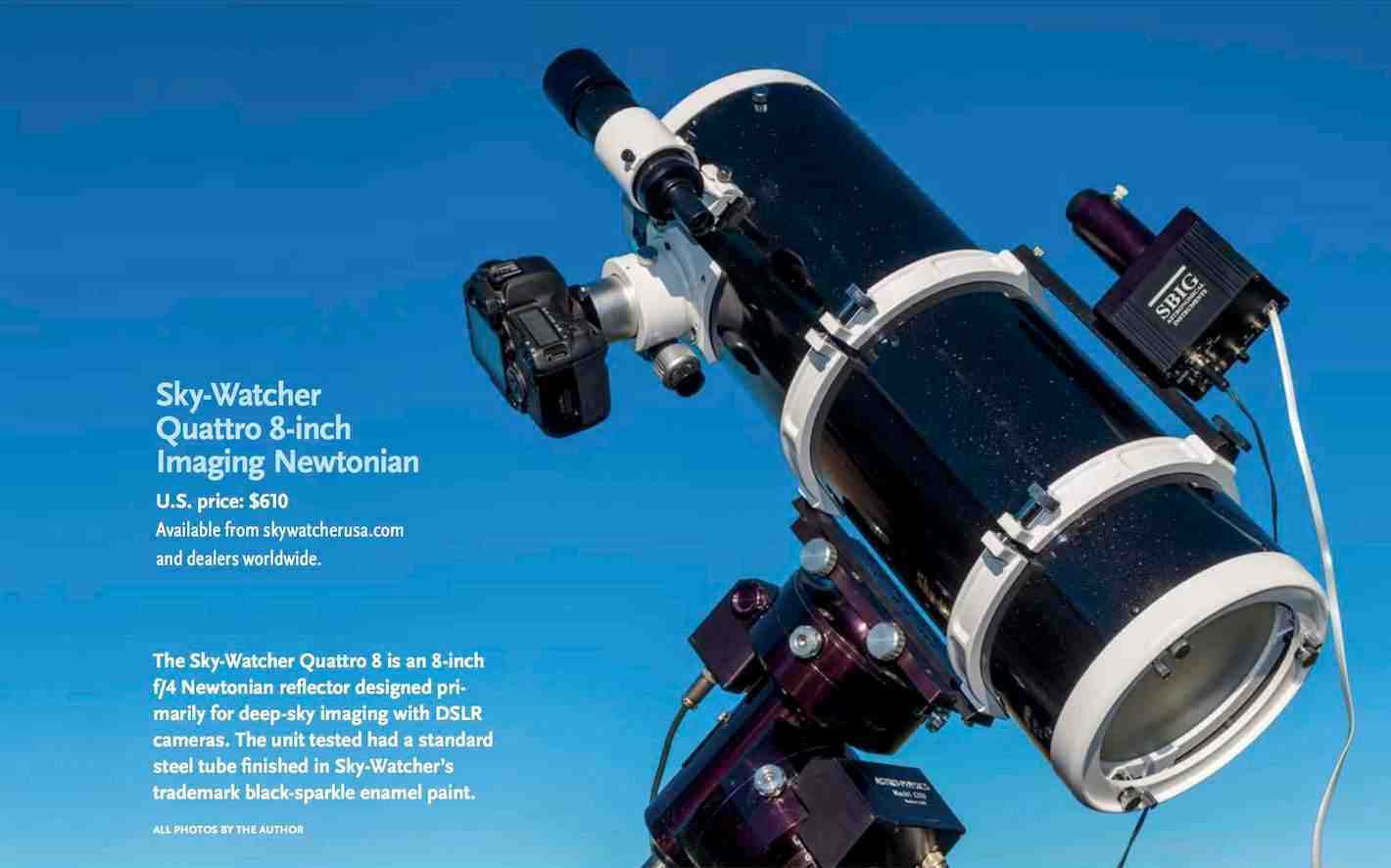 Quattro Review in Sky & Telescope