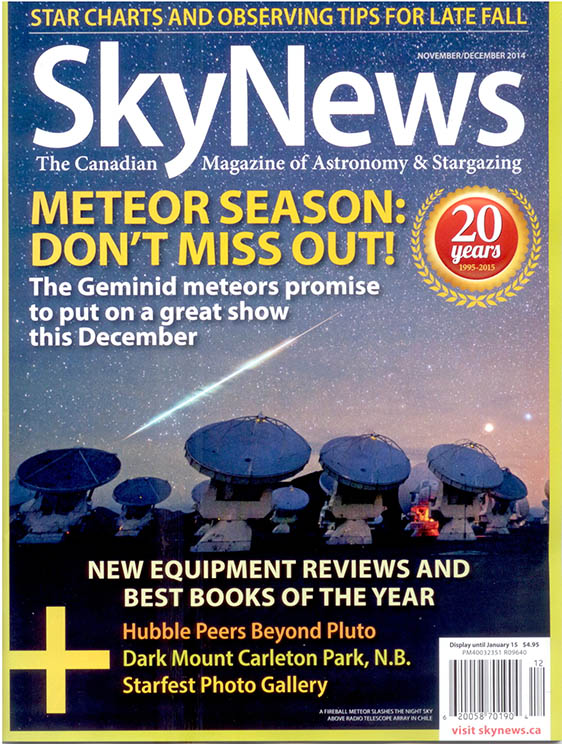 SkyNews Review - Star Adventurer