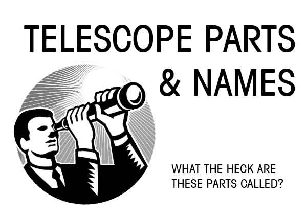 Telescope Parts & names