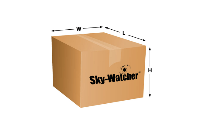 Sky-Watcher Product Shipping Dimensions List