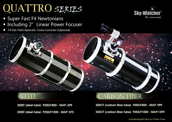 Quattro Series Flyer (Steel/Carbon Fiber)