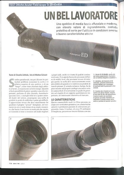 Armi e Tiro St20-60X80A (Italian Magazine Review)
