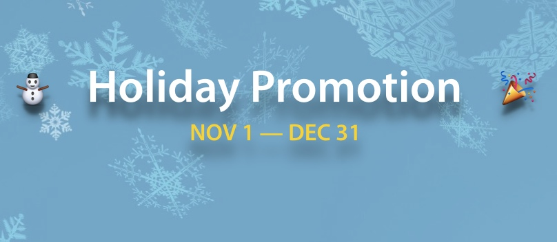 2015 Holiday Promotion (Expired)
