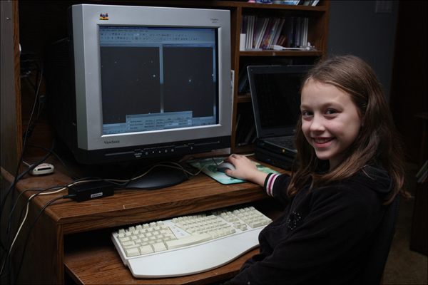 Meet Kathryn Gray, 10 year old girl who discovered a supernova!!