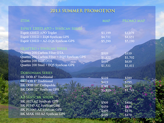 2013 Summer Promo(Expired)