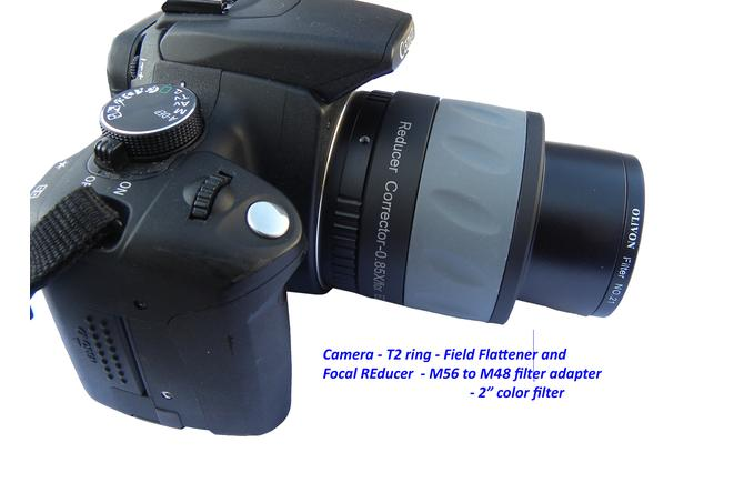 M56-M48 filter adapter