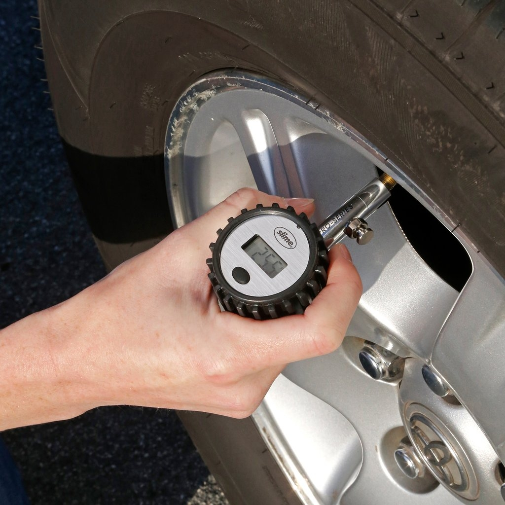 Slime Pro-Series Mini Digital Precision Tire Gauge (5-100 psi)