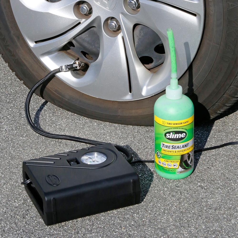 Slime Smart Spair Flat Tire Repair Kit