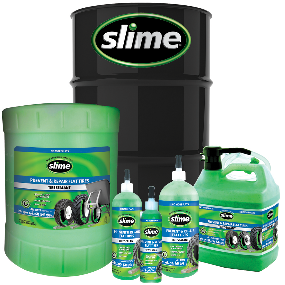 Slime Prevent and Repair Tire Sealant Family