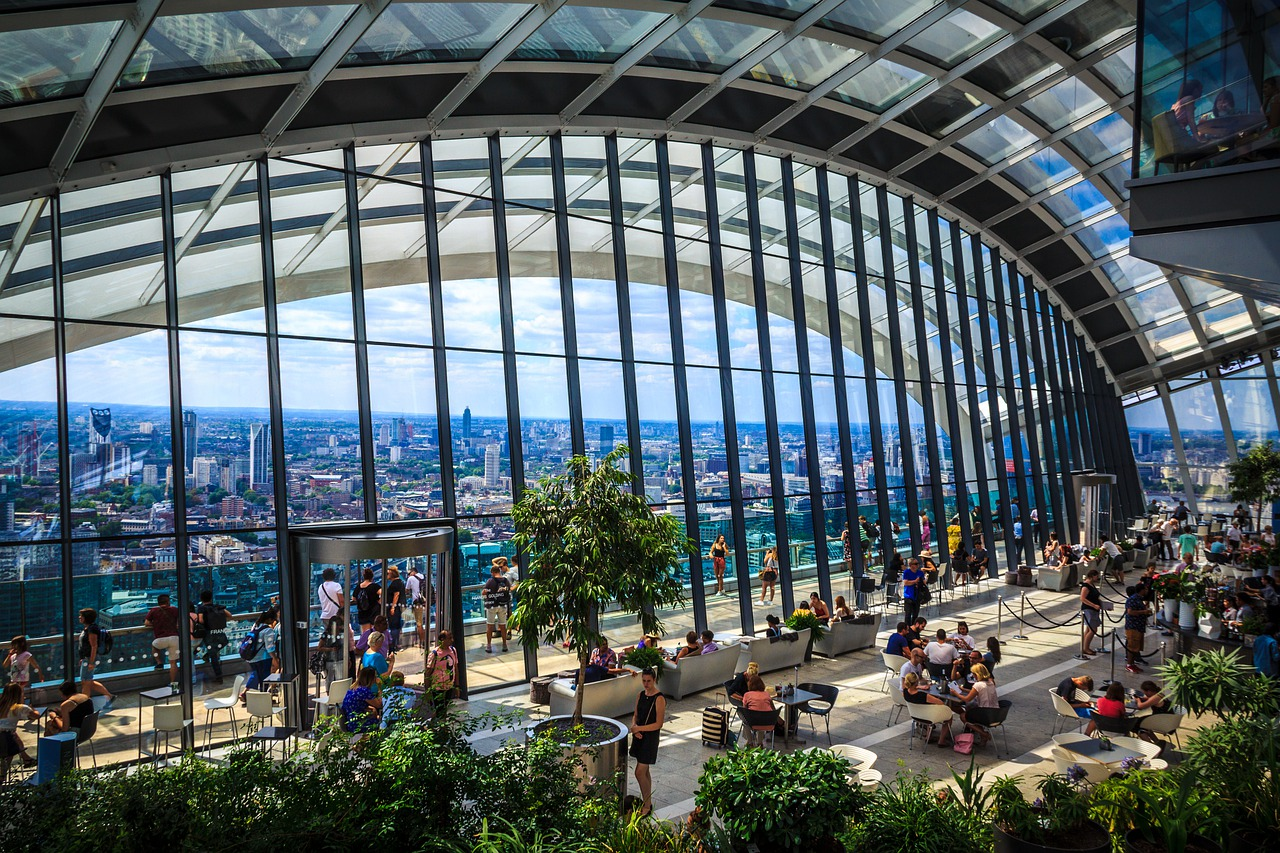 things to do in the sky garden, london