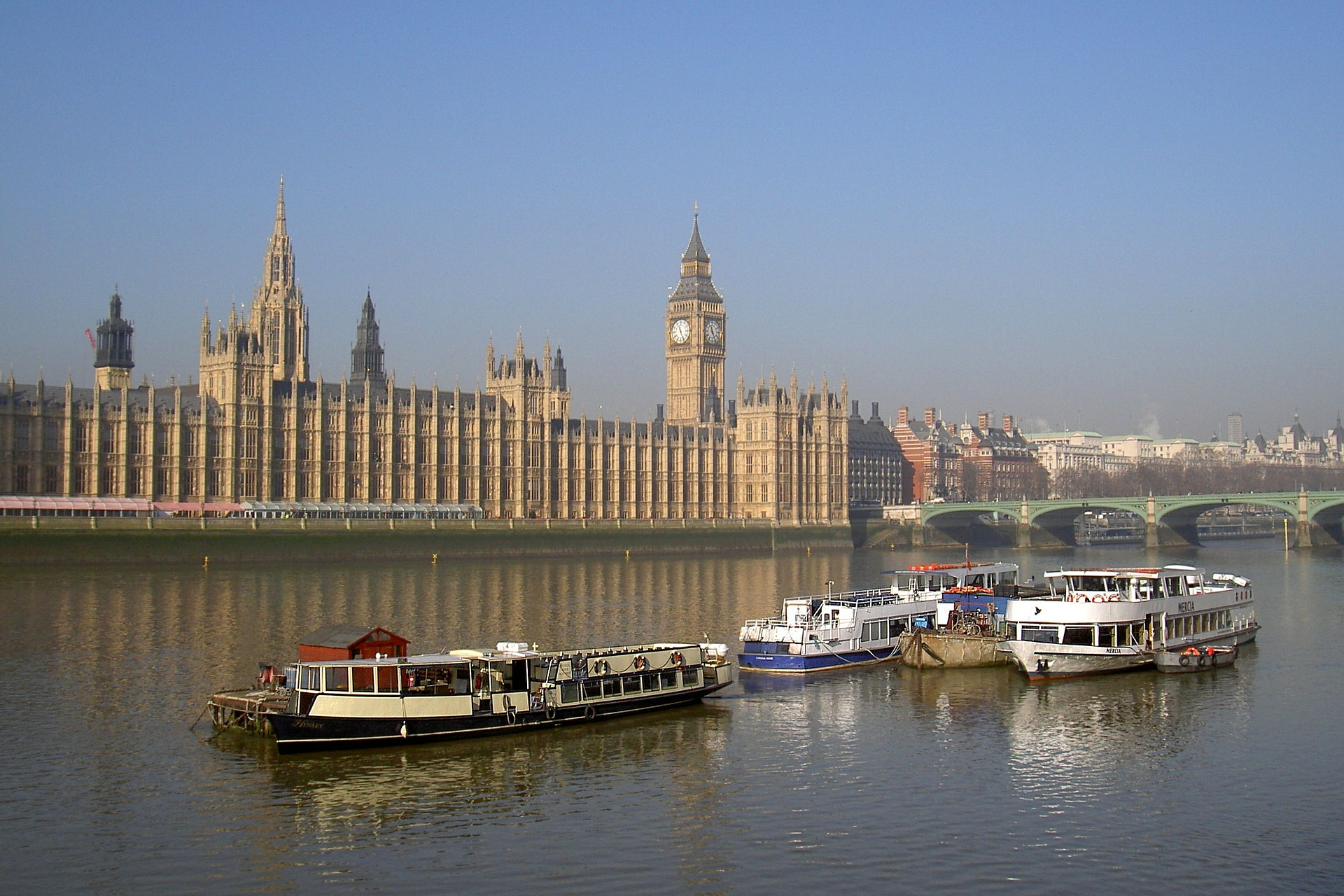 Thames Clippers operates river bus routes frequently