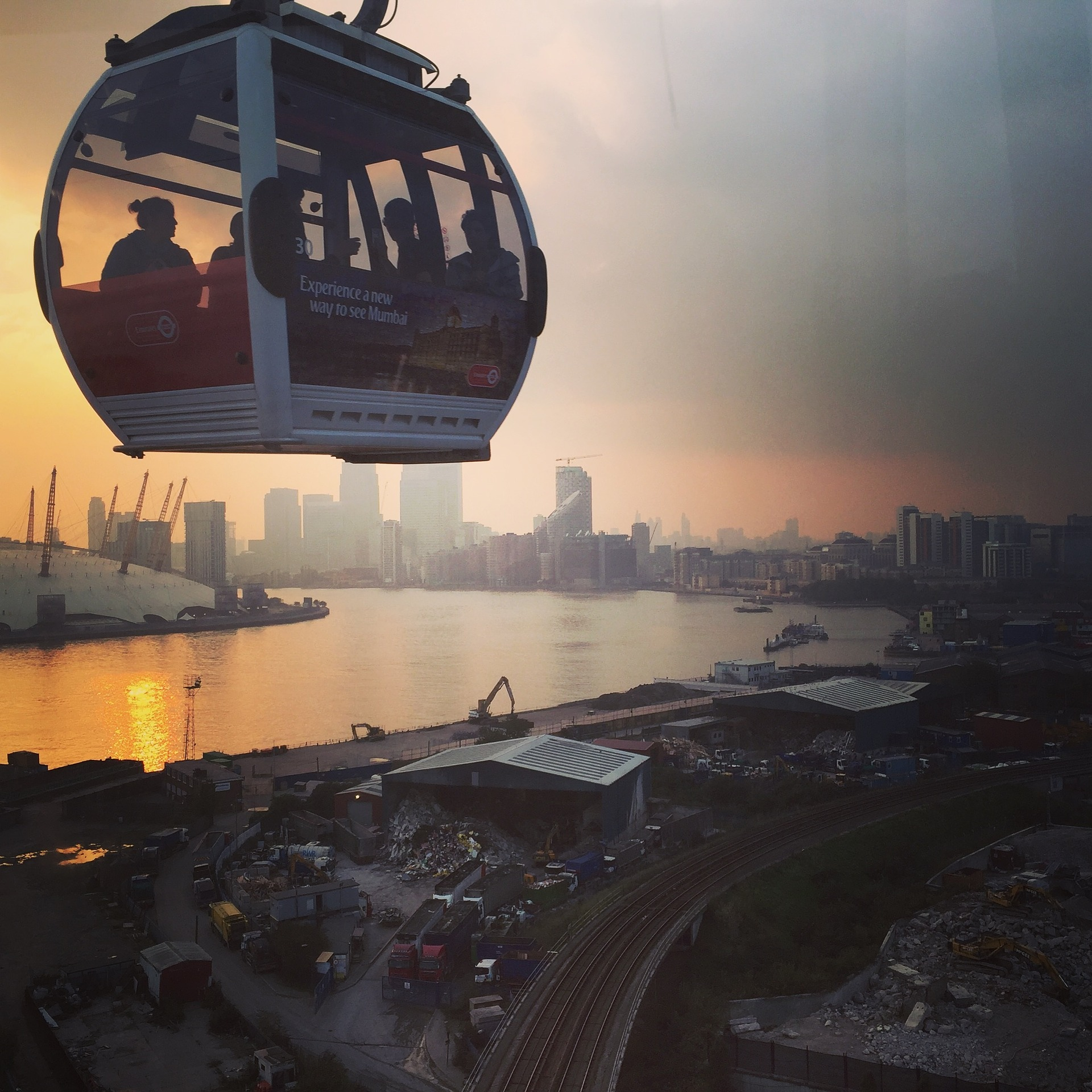 Air Line Cable Car, a only cable transport in the UK
