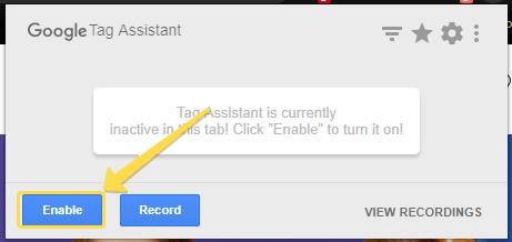 Tag Assistant, Google Analytics Kodları