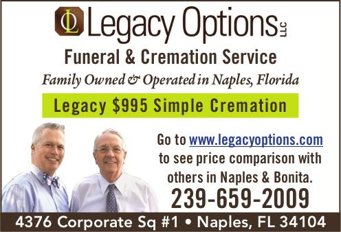 Local Directories Legacy Options Funeral and Cremation Services