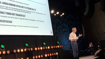 Bård Vegar Solhjell på Avfallskonferansen 2019