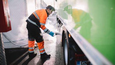 Gasum LBG biogass lastebil
