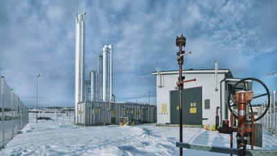 Gasum Finland biogass