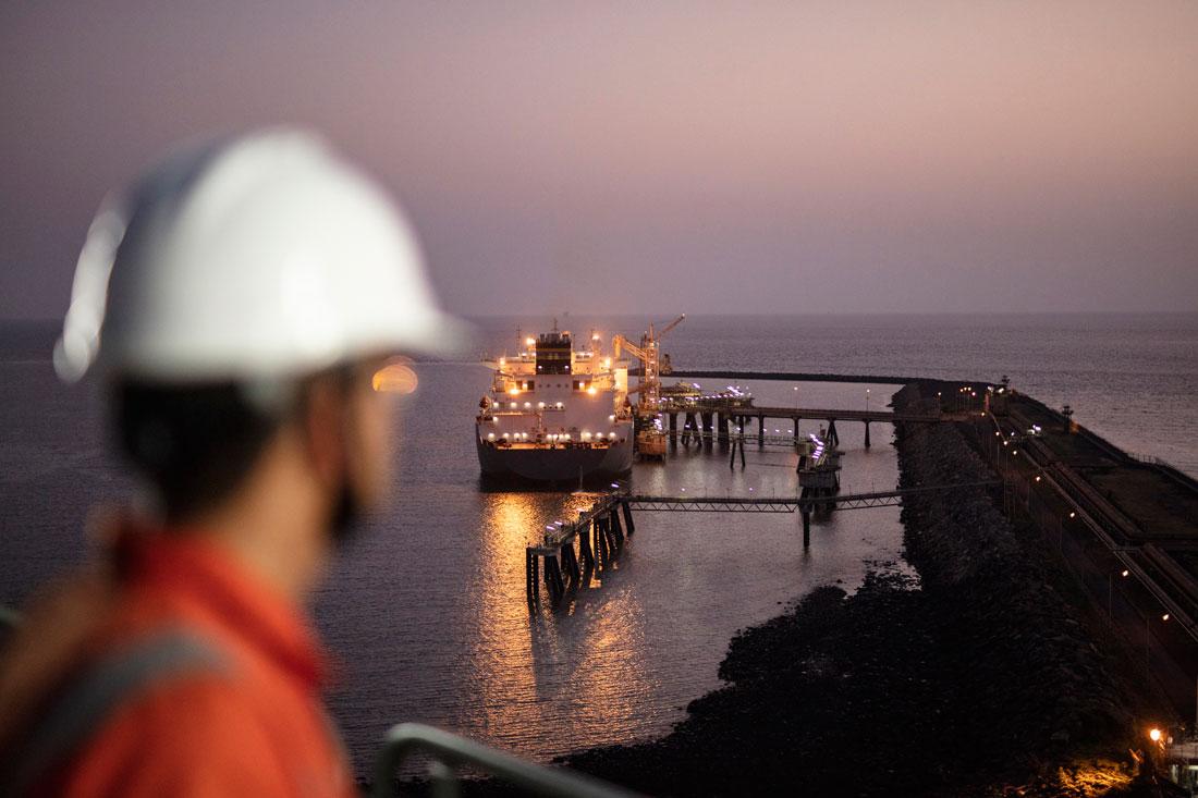 Shell LNG skip