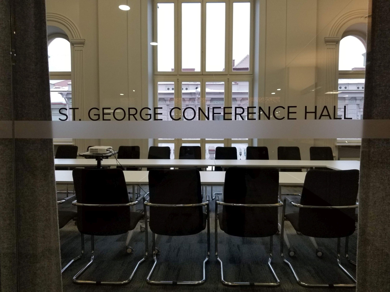 Info Sesija St. George posėdžių salėje