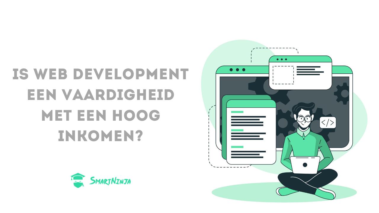 Is web development een vaardigheid met een hoog inkomen?