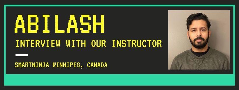 Abilash: Make the computer your best friend!