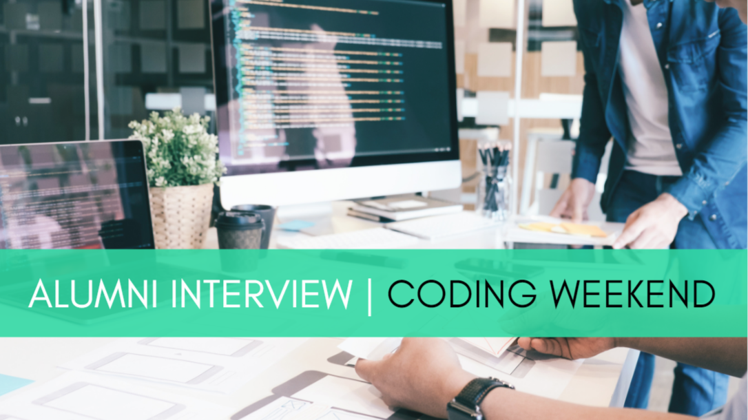 Alumni Interview mit Mahmud | Coding Weekend
