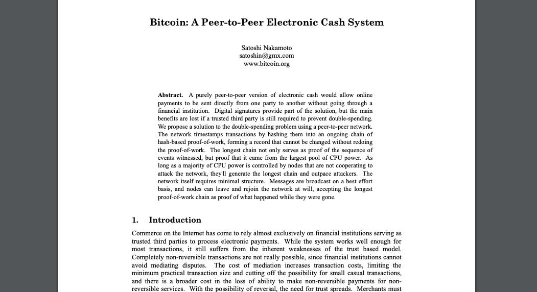 nakamoto bitcoin popierius obuoliai 4 bitcoin