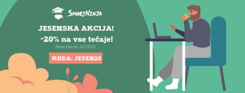 Jesenska akcija: tečaji po znižanih cenah!