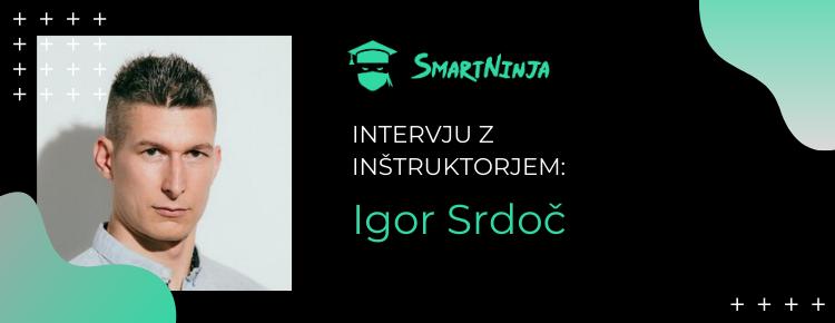 Igor Srdoč: Znanje programiranja je odlična naložba