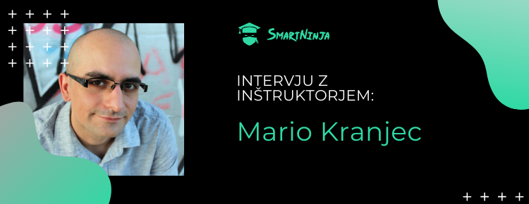 Inštruktor Mario: Ponosen sem na svoje tečajnike, presegli so moja pričakovanja!