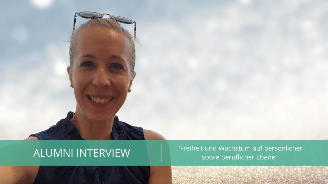Alumni Interview mit Annika