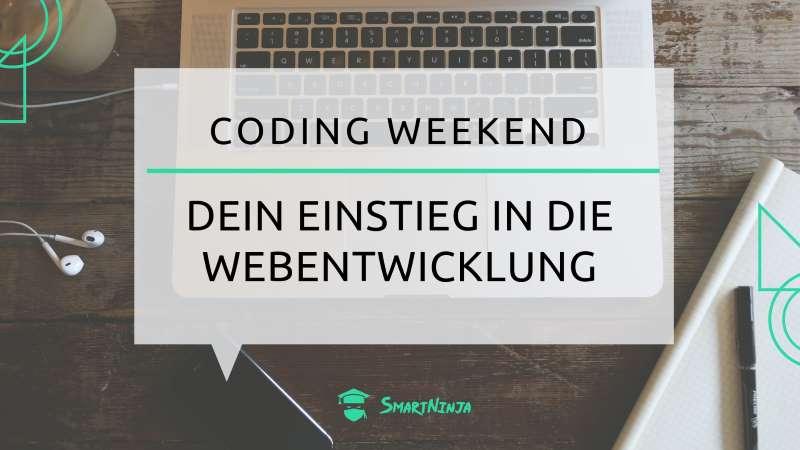Coding Weekend - Dein Einstieg in die Webentwicklung