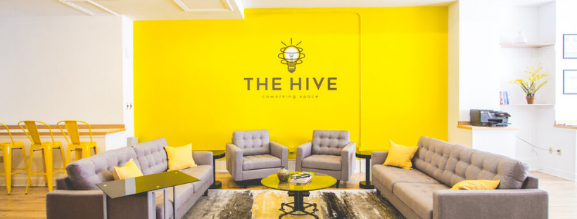 Meet the Hive - A coworking space that's perfect for ghost busters! :)