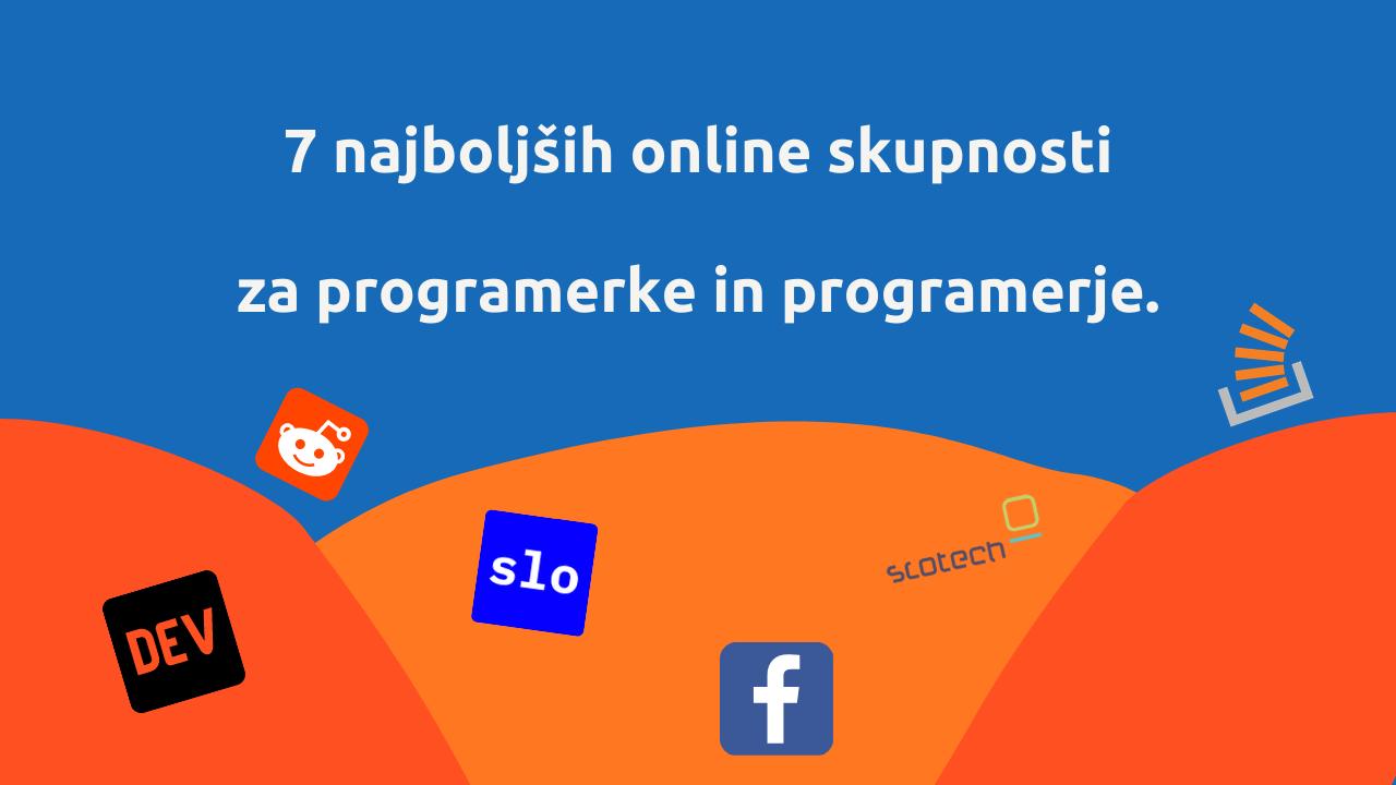 7 najboljših programerskih online skupnosti