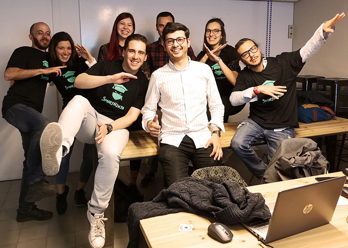 Curso Presencial de HTML / CSS con Bootstrap y Git para Principiantes en la Escuela de Programación SMARTNINJA en Barcelona