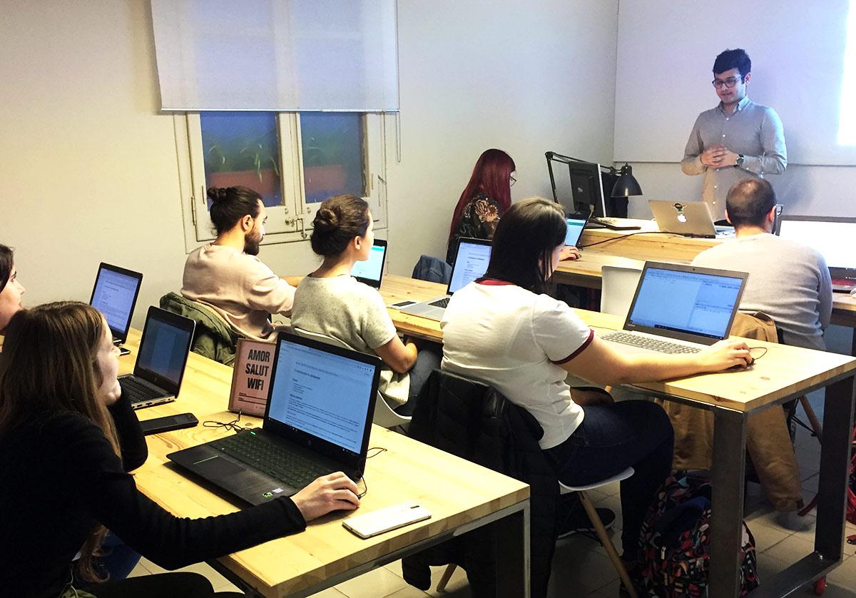 Clase de SQL & Base de Datos para Principiantes del Curso Presencial en Barcelona