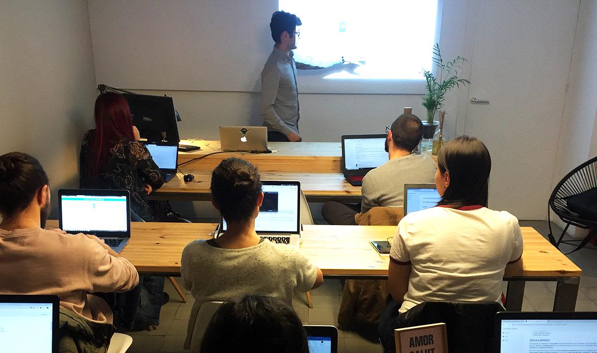Curso Presencial de Smartninja Barcelona para SQL & BAses de Datos para Principiantes
