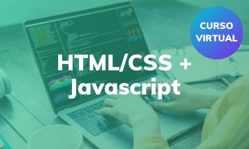HTML/CSS + JavaScript | Curso Virtual