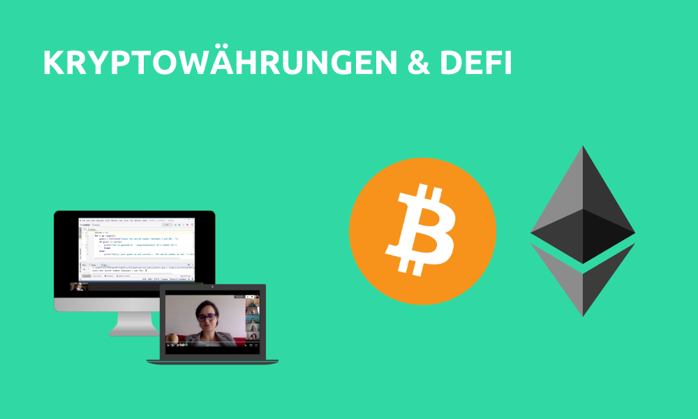 Kryptowährungen & DeFi (Livestream Gruppenkurs)